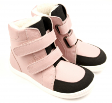 Baby Bare Shoes Febo Winter Candy Asfaltico