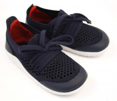 Bobux Play Knit Navy Red