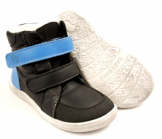 Zvětšit Baby Bare Shoes Febo Winter Black Asfaltico