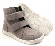 Baby Bare Shoes Febo Winter Grey