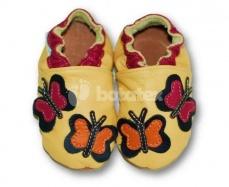 Zvětšit Kožené capáčky Fiorino - motýl