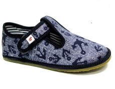 Zvětšit Barefoot papuče Ef 395 Jeans Kotwica