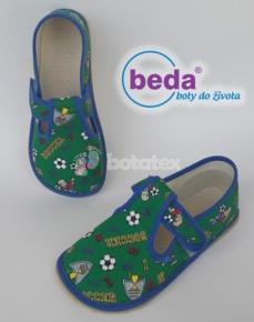 Zvětšit Barefoot papuče fotbal