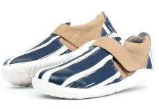 Zvětšit Bobux Aktiv Paint Shoe White Navy