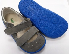 Zvětšit Beda  Boty barefoot sandály šedé
