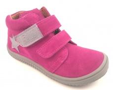 Zvětšit Filii barefoot - Chameleon velcro velours pink M