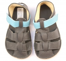 Zvětšit Baby Bare Shoes Blue Beetle - Sandals New