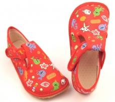 Zvětšit Barefoot papuče červené rybky