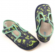 Zvětšit Barefoot papuče příšerky užší
