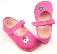Zvětšit Barefoot papuče růžová třpytka