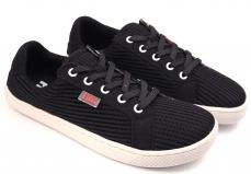 Zvětšit Filii Barefoot RELAX vegan textile black laces M