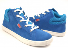 Zvětšit Filii Barefoot SKATER ONE laces velours turquoise M