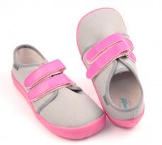 Zvětšit Beda  Barefoot tenisky Grey/pink