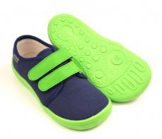 Zvětšit Beda  Barefoot tenisky Modro/zelené