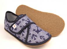 Zvětšit Barefoot papuče Ef 394 Jeans Kotwica