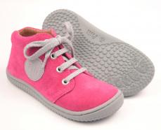 Zvětšit Filii barefoot - Gecko  velours pink laces M
