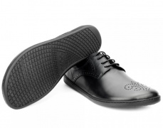 Zaqq Peaq Brogue Black