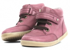 Bobux Timber Boot Plum I-walk