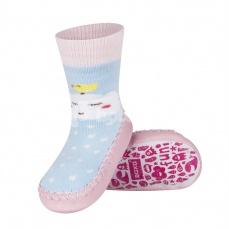 Zvětšit Dětské ponožkové papuče 98497A