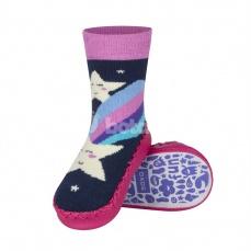 Zvětšit Dětské ponožkové papuče 98497B