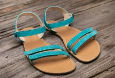 Zvětšit Barefoot sandále Lenka Summer - Tyrkys